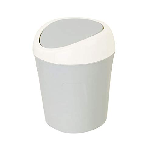 ZXC Home afvalemmer voor thuis, woonkamer, keuken, badkamer, yard, vuilnisbak, creatief design vuil, 3 kleuren naar keuze