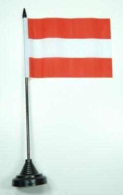 Fahne / Tischflagge Österreich NEU 11 x 16 cm Flaggen by FahnenMax®