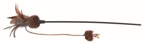 Trixie 45741 Spielangel mit Schmetterling und Ball, 54 cm