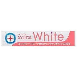 ロッテ キシリトールホワイト ピンクグレープフルーツ 14粒×20個入×(2ケース)