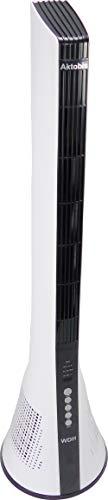 Aktobis Turmventilator WDH-TW1803 - Edles Design, hohe Qualität, Swing- und Timerfunktion