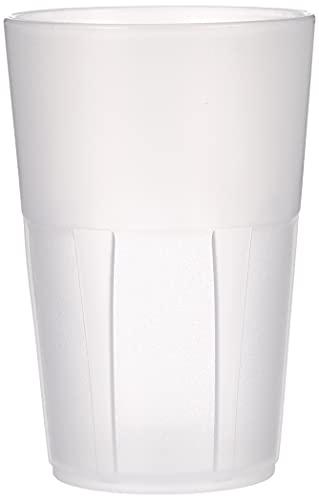 Mojito Design Cocktail Bicchieri, Plastica, Trasparente, 6 Pezzi