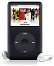 M-Player Apple iPod Classic 80gb Black 6th Generation Packed in White Box (Generic Accessories Included)