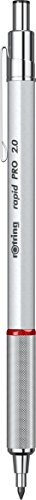 Rotring Rapid Pro Mechanical Pencil 2.0mm Silver Chrome 1904259