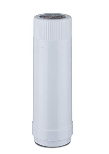 ROTPUNKT Isolierflasche 40 MAX 0,75 l | Zweifunktions-Drehverschluss | BPA Frei- gesundes Trinken | Made in Germany | Warm + Kalthaltung | Glaseinsatz | Polar