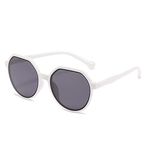 NBJSL Gafas De Sol Redondas De Moda Para Mujeres, Hombres, Gafas De Sol Vintage De Gran Tamaño (Caja De Embalaje Exquisita)