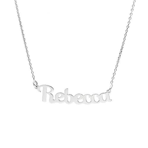 Collana con nome in argento 925 REBECCA