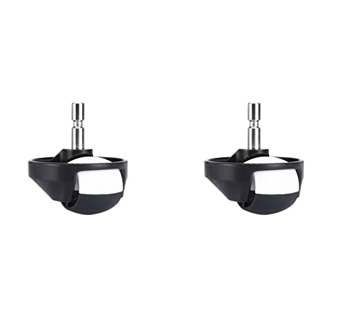 MIRTUX Pack de 2 Rueda Delantera Compatible con Roomba 500, 600, 700, 800, 900, E, i, S. Aspiradora Robot Compatible con irobot roomba. Accesorios y Repuesto romba