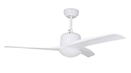 Orbegozo CP 92105 - Ventilador de techo con luz, mando a distancia, diámetro de aspas 105 cm, 3...