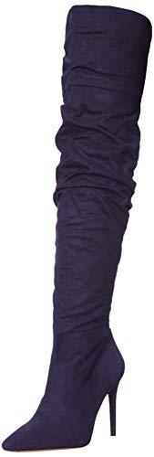 Jessica Simpson Women's Ladee Fashion Boot, SGT Navy, 7 M US