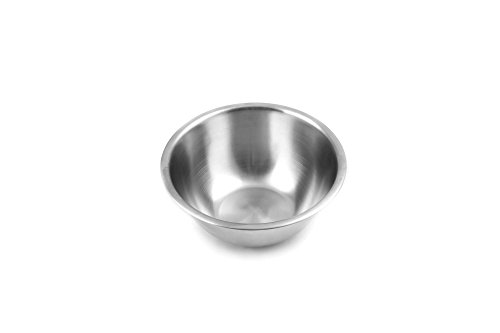 Fox Run Stainless Steel Small Mixing Bowl, 7.25 x 7.25 x 3.75 inches, Metallic