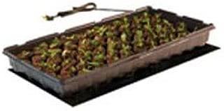 Hydrofarm MT10006 Seedling, 17 Watts, 9 x 19.5 Inches Heat Mat, 9 inch x 19-1/2 inch, Black