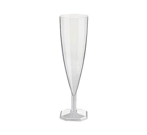 Nupik - Flûte À Champagne Plastique Monobloc 13Cl Par 12