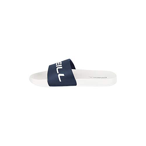 O'Neill Herren Fm Slide Logo Sandalen, Weiß (Powder White 1030), 45 EU