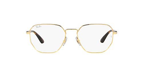 Ray-Ban 0RX6471 Gafas, Gold, 52 Unisex Adulto