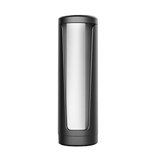 WEFH Soporte de pared para cápsulas de café de almacenamiento de filtro de papel para Keurig K Cup,Negro