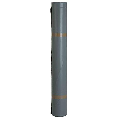 2x Baufolie Typ 200 4m x 25m (2x 100m²) transluzent - Schutzfolie Abdeckfolie Estrichfolie Bauplane