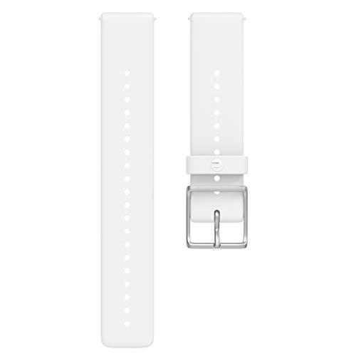 Polar Unisex Wrist Band Ignite, White, Small/Medium