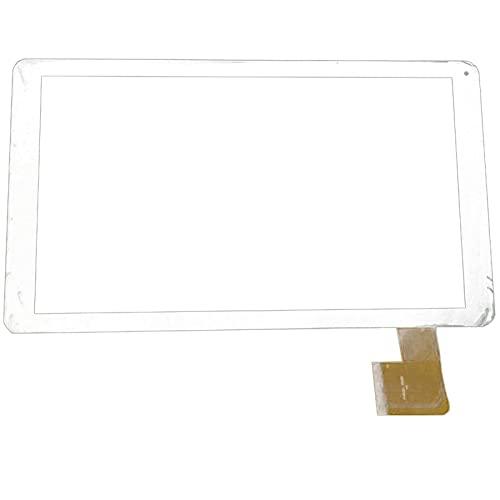 10.1 Pulgadas Ajuste para SPC Glee 10.1 Tableta cuádruple Tableta Pantalla táctil Panel táctil digitalizador de reemplazo de Sensor de Vidrio (Solo Pantalla táctil) (Color : Black)