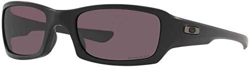 Oakley Fives Squared Sunglasses / Matte Black / Prizm Grey Lens - 009238-3254