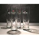 Set of 6 glasses from Heineken with 2017 star, 25 cl