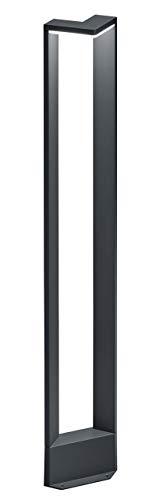 Trio Leuchten LED Außenleuchte Ganges 421760142, Druckguss Aluminium anthrazit, 1x 9 Watt