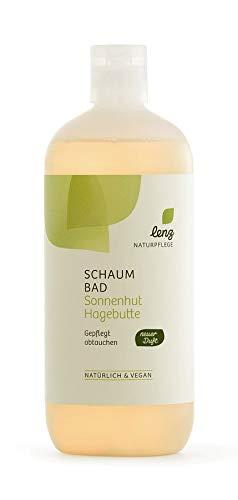 Lenz Naturpflege Schaumbad Sonnenhut Hagebutte - 500 ml