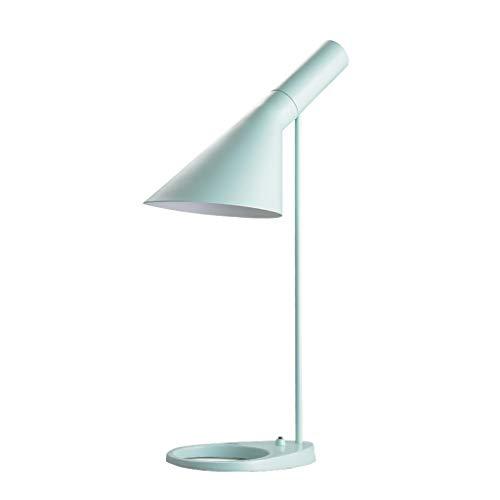 Schreibtischlampen Mintgrün Tischlampen Prinzessin Schlafzimmer Leselampen Lampe E27 Eisen Schreibtischlampe Nachttischlampe for Schlafzimmer Studie Wohnzimmer Tisch- & Nachttischlampen