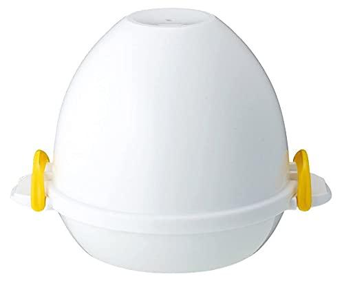Cocedor de huevos de vapor para microondas – Dura pantorrilla o carcasa – Fabricado en Japón