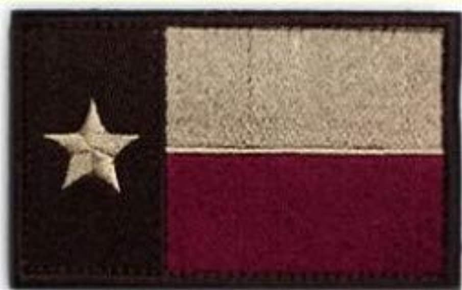 Morton Home-Tactical American US Texas Lonely Star Flag Patch Decorative Embroidered Appliques 2