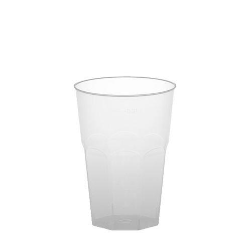 Gastro-Bedarf-Gutheil 90 Gläser für Caipirinha, PS 0,3 l Ø 8 cm · 11 cm transluzent unzerbrechlich mit Füllstrich Plastik
