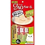 【12個セット】チャオ (CIAO) CIAOちゅーる とりささみ チキンスープ味 14g×4本