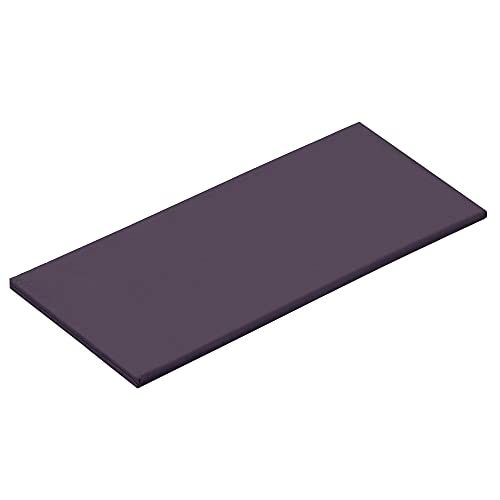 Navaris Colchoneta de meditación Grande - Cojín Plegable para meditar Yoga Relax - Esterilla de algodón Lavable de 200 x 80 CM - Almohada zafutón