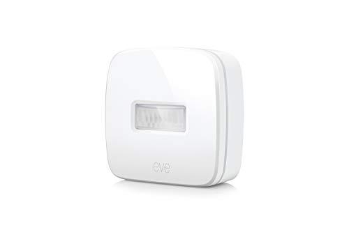 Eve Motion - Sensor de movimiento inalámbrico, Bluetooth Low Energy, non occorrono bridge o gateway, blanco (Apple HomeKit)