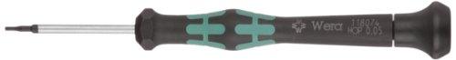 Wera Kraftform 2054 Micro Schroevendraaier - 2054 Hex Hex-Plus, 0.05 x 40 mm ZILVER
