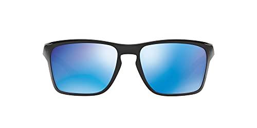 Oakley Gafas de sol OO9448 SYLAS 944824 Gafas de sol Hombre color Negro azul tamaño de lente 57 mm