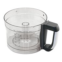 professional Cuisinart FP-8WB work bowl (white handle)