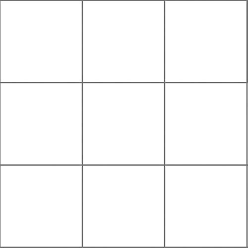 Tink Pegatinas autoadhesivas para azulejos   láminas de plástico para cocina y baño para suelos, escaleras y superficies de madera   (blanco brillante, 10 x 10 cm // 20 unidades)