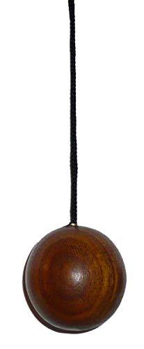 Péndulo de radiestesia de madera exótica con un pequeño libro explicativo de uso – Péndulo divinatorio para descubrir