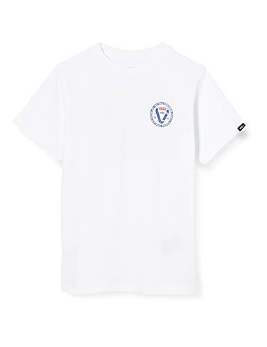 Vans Old Skool V Kids Camiseta, Blanco (White Wht), 4-5 años (Talla del Fabricante: 4) para Bebés