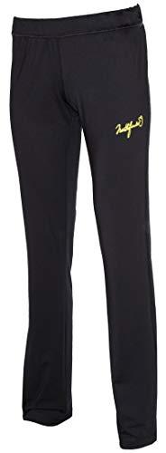 Northfinder Jogginghose für Damen Sporthose für Jogging, Training, Fitness und Cardio (Schwarz, L)