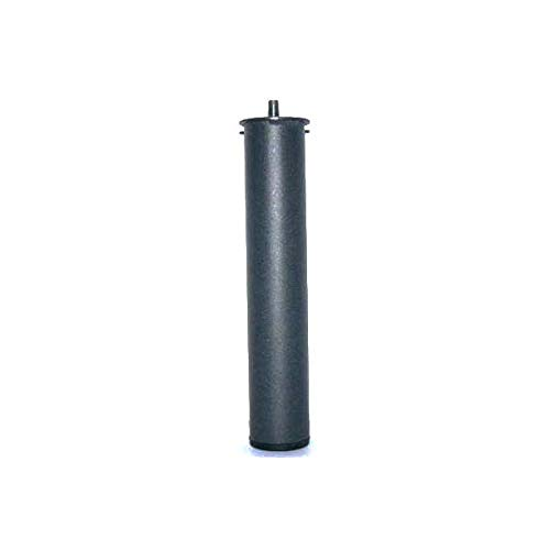 LA WEB DEL COLCHON - Patas Metálicas cilíndricas para somier, Bases tapizadas o Camas articuladas, Altura 27 cms