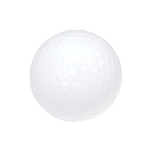 VORCOOL Bolas de Golf Luminosas de Noche Bolas de Golf de luz LED Bolas de Golf Reutilizables de Noche (Rojo)