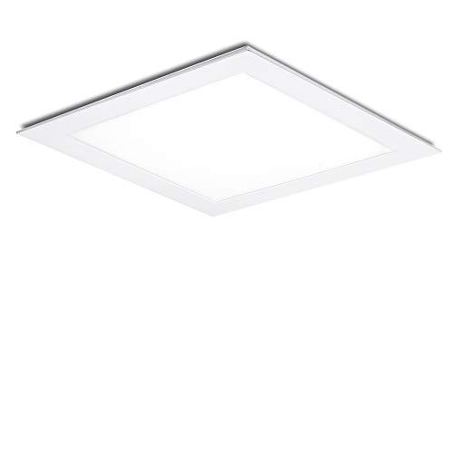 Greenice | Placa de LEDs Cuadrada 300Mm 25W 2180Lm 30.000H | Lámpara LED | Downlight LED | Panel LED Techo | Oficina, Fábrica, Pasillos, Baños | Blanco Frío