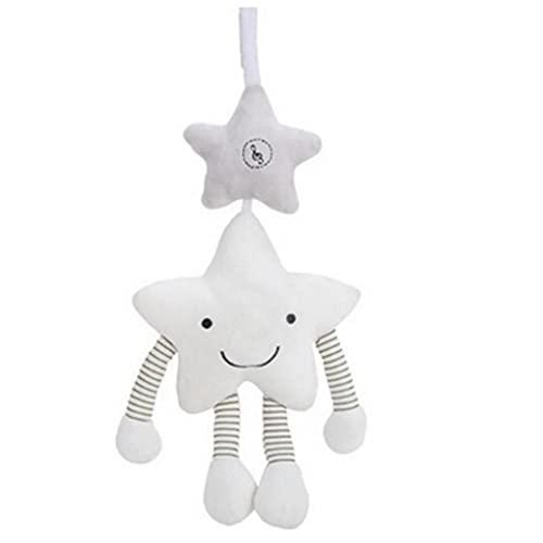 PiniceCore 1pc Bebé Juguetes Colgantes para Cochecito Infantil De La Estrella del Pesebre Que Cuelga del Traqueteo De La Cama De Bebé Juguetes De Peluche 21.5 * 15.5cm