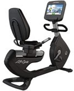 Life Fitness Platinum Club Series Recumbent Lifecycle with Discover SE Tablet Console