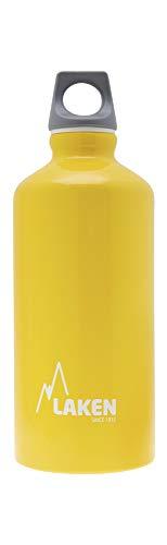 Laken Unisex– Erwachsene Aluminium gelb, BPA Aluminiumtrinkflasche Futura 0,6 Liter, PBA frei