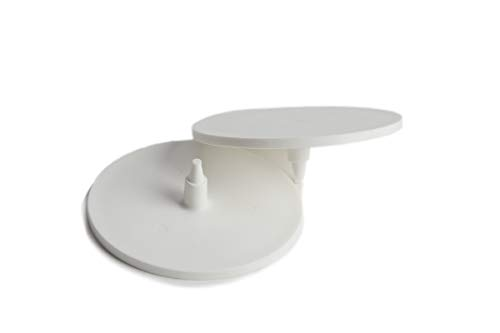MPL Garten-mpl50121Cricket Bowling Run bis oder Feld Marker Disc–weiß