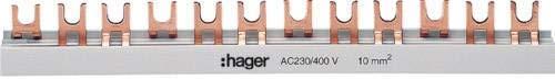 Hager Phasenschiene KDN363B 3polig