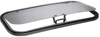 SFC/CRL 17 x 35 AutoPort Sunroof Van Trim Ring - Solar High Performance Glass by CR Laurence